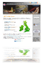 uk traffic news